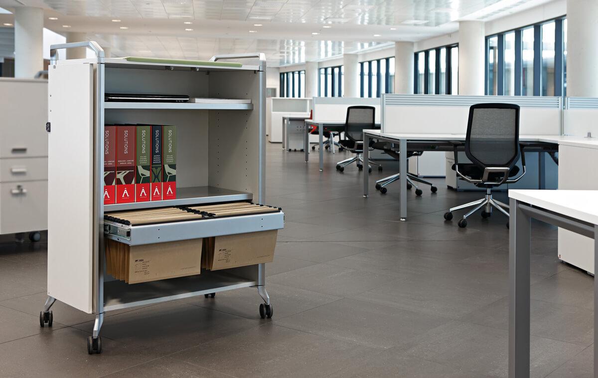 Muebles de archivo la oficina moderna for Sillones para oficina modernos