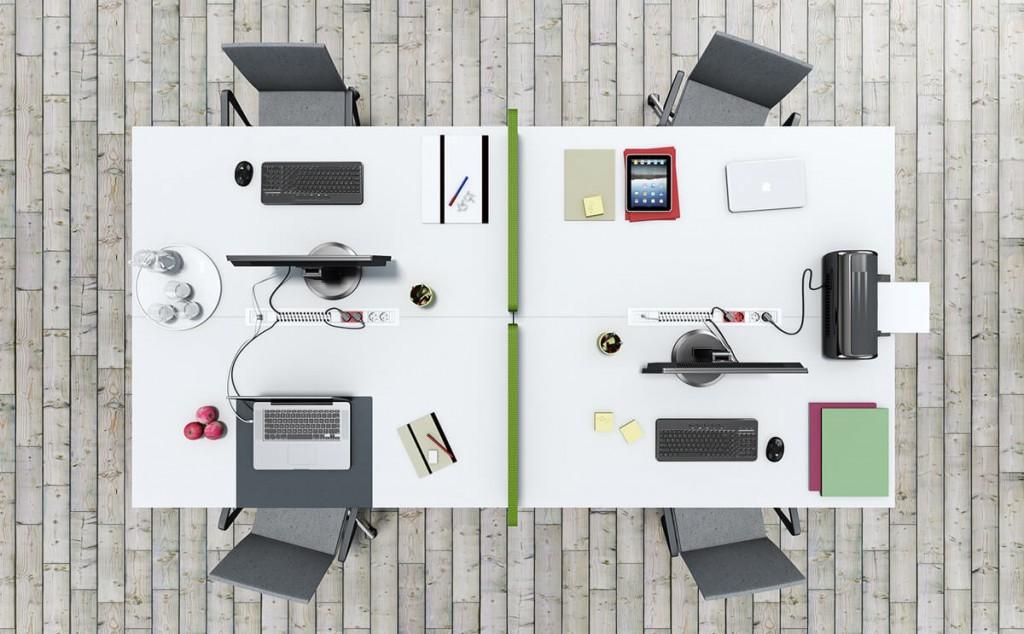 Electrificaci n muebles de oficina la oficina moderna for Ordenadores para oficina