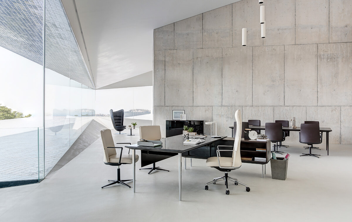 Muebles de direcci n la oficina moderna for Ideas de oficinas modernas