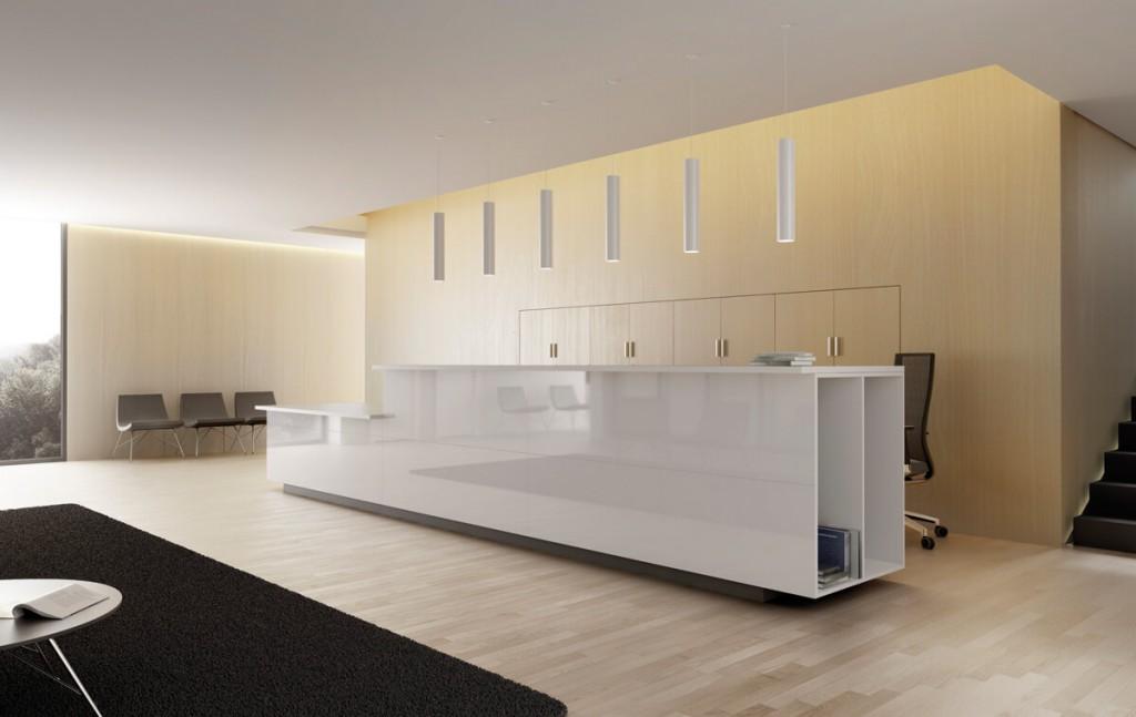 Muebles de recepci n la oficina moderna for Recepcion oficina moderna