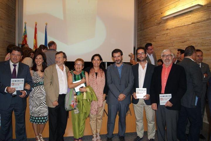 Acto Entrega reconocimientos Comercio Excelente 2010 de la provincia de Alicante