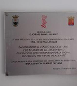 Inauguración del Centro para mayores en Penáguila